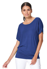 Lilianne - 7316 - Dolman Short Sleeve Top