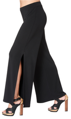 Dallas - 4514 - Pull-On Pant with Side Slit