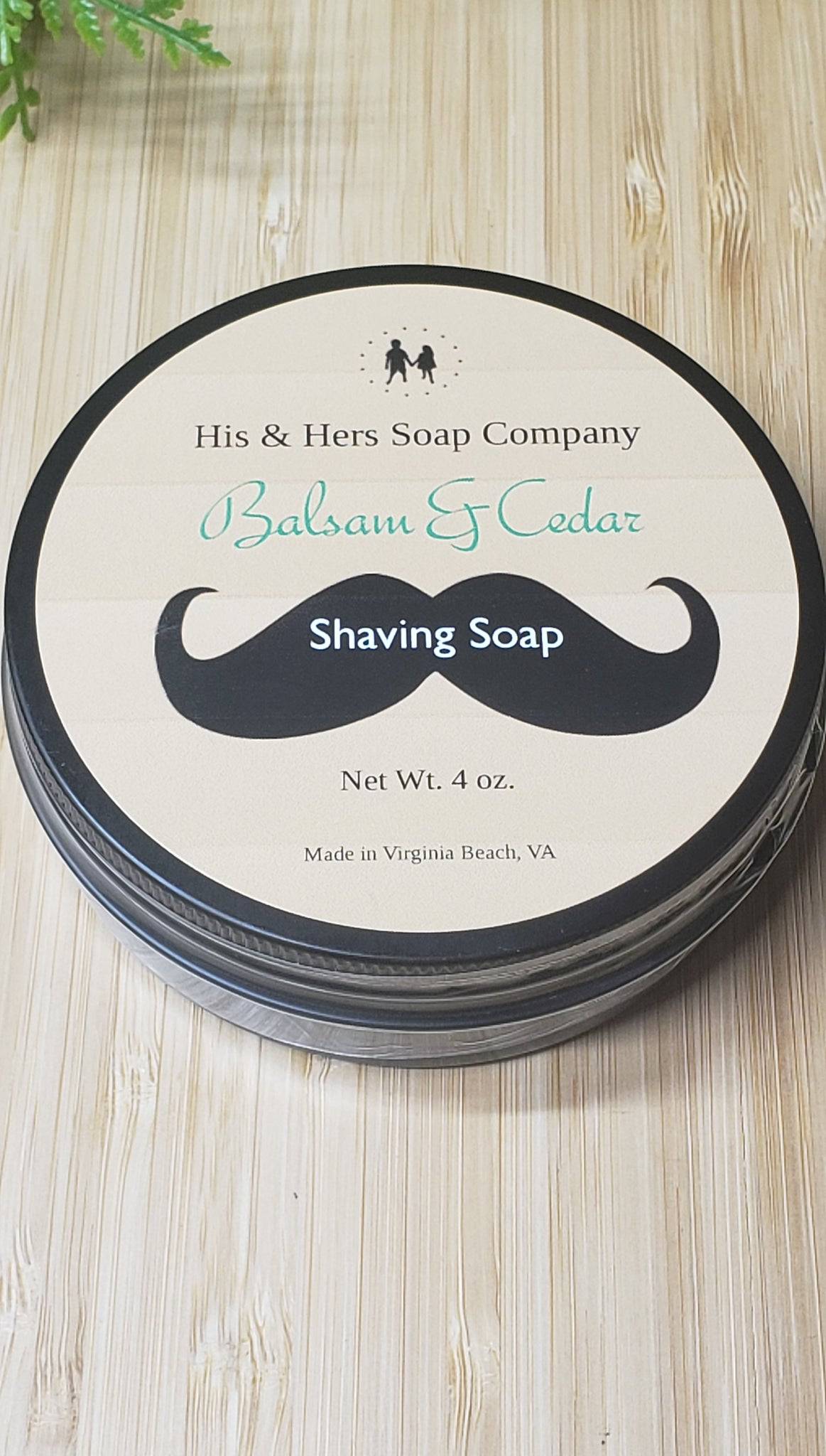 Balsam and Cedar Shaving Soap