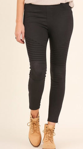 Black Motto Jean legging