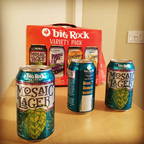 Big Rock Brewery's Mosaic Lager