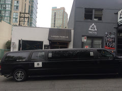 Long table Canadian Craft Limo parking