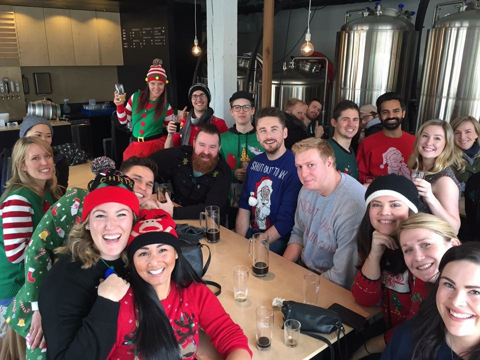 Faculty Brewing Vancouver Group events