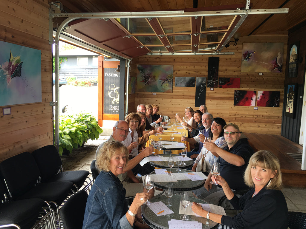 Winery Party in the Fraser Valley