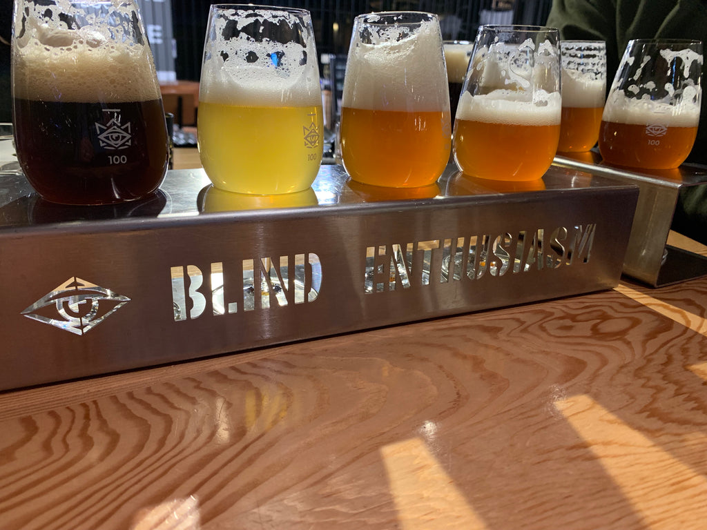 Blind Enthusiasm Beer Flight