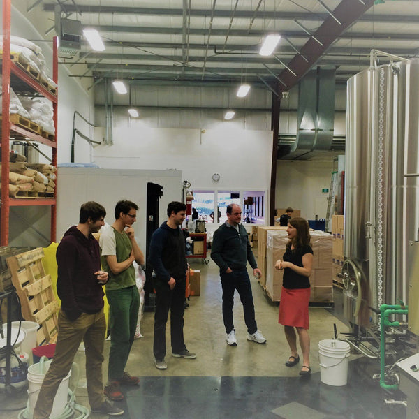 Behind the Scenes Brewery Tour at Category 12