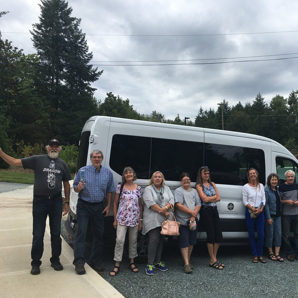 Cowichan Valley Wine Tour bus