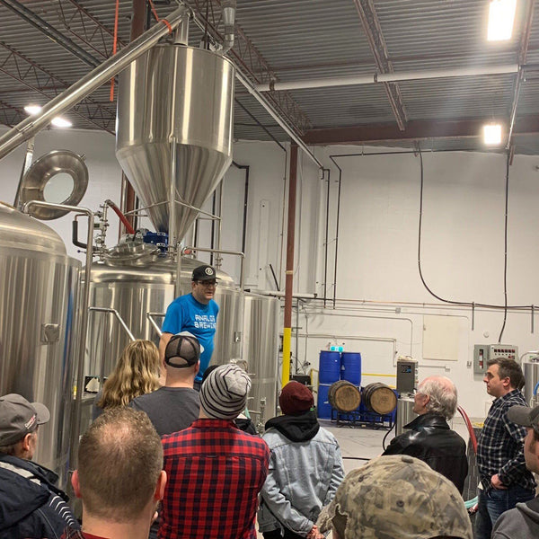 Behind the Scenes Tour on Edmonton Brewery Tour