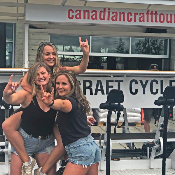 Calgary Beer Bike Tour