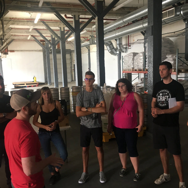 Brewery Tour at Andina