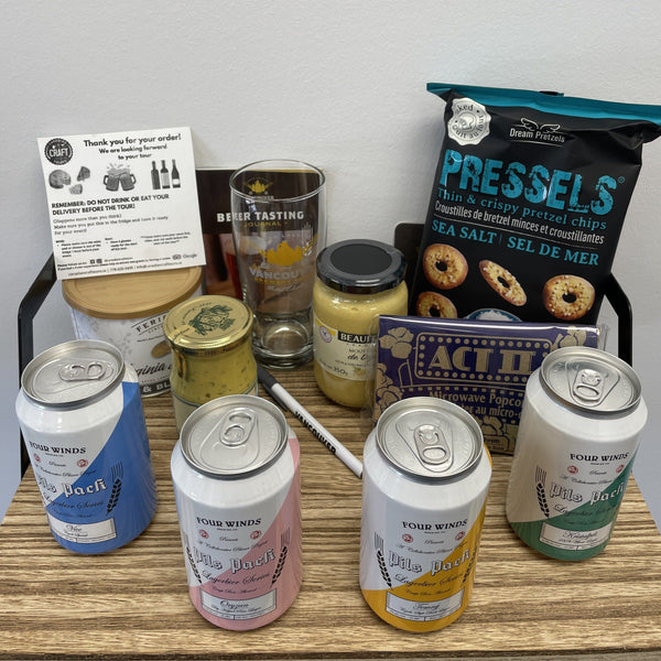Virtual Beer and Pretzel Tasting Tour