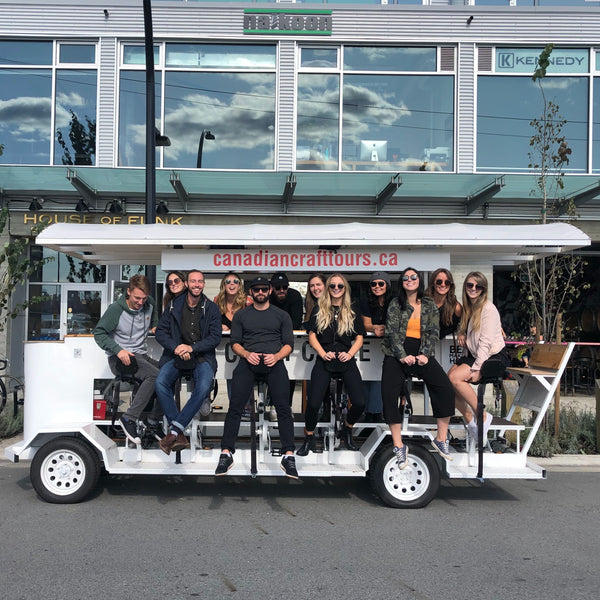 North Vancouver Beer Bike