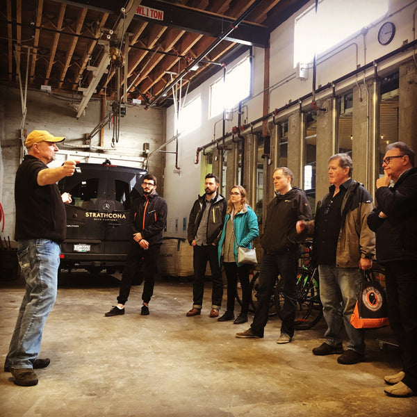 Strathcona Brewery Tour with Fez
