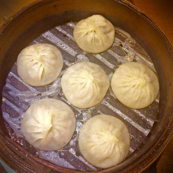 XLB Soup dumpling on Vancouver food tour