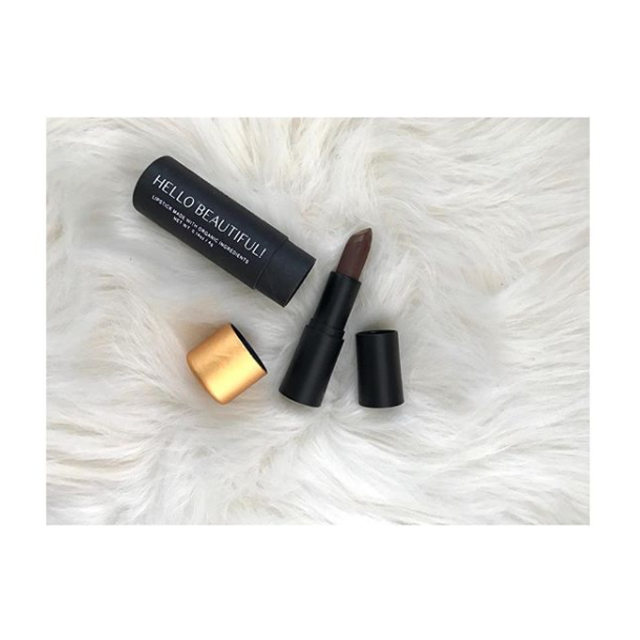 Kiesha Adinkra Hello Beautiful Lipstick Review Cinnabar