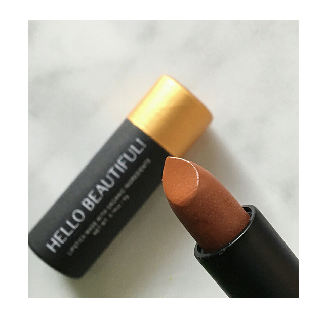 Sweet Violet Beauty Hello Beautiful Lipstick Amber Review