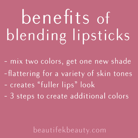 blending lipsticks mix and match two colors