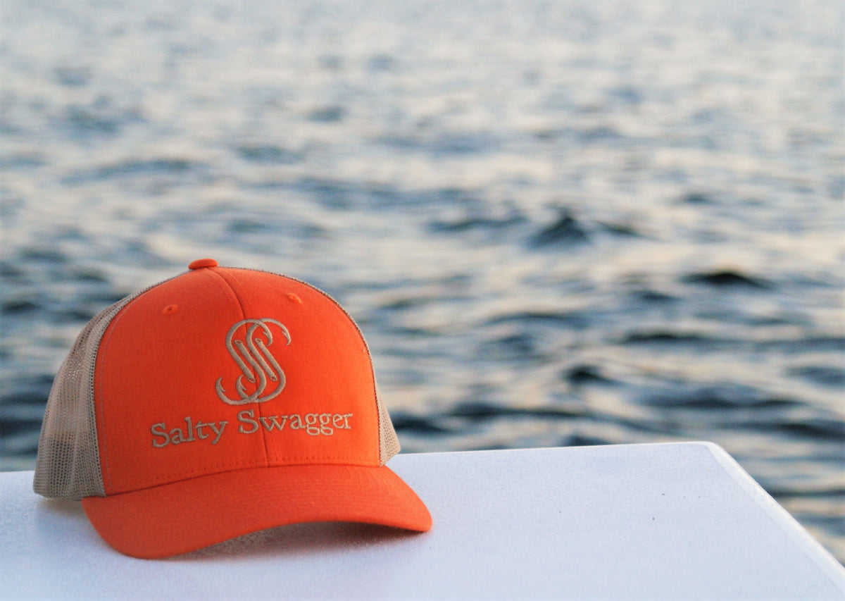 Orange/Khaki Snap Back