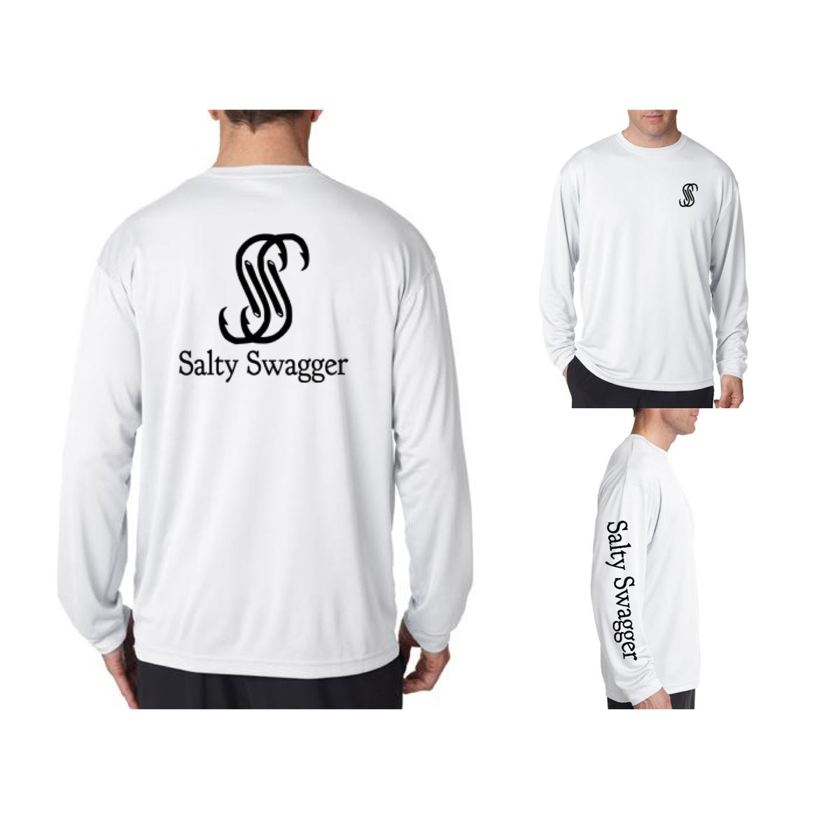 Salty Swagger Logo Performance Shirt
