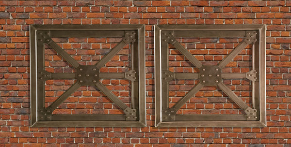 Industrial Steel Architectural Truss Wall Hanging Metal Art - Sam's Metal Works - 1