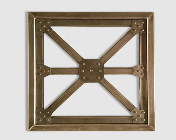 Industrial Steel Architectural Truss Wall Hanging Metal Art - Sam's Metal Works - 2