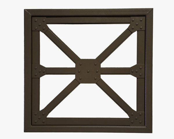 Industrial Steel Architectural Truss Wall Hanging Metal Art - Sam's Metal Works - 3