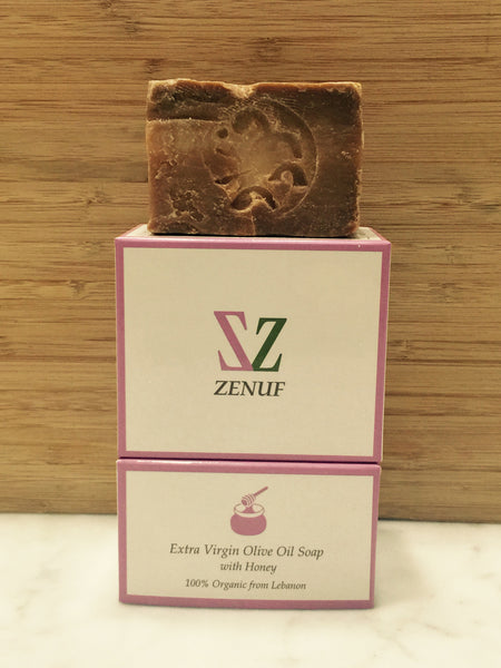 Zenuf Extra Virgin Olive Oil Soap with Honey 100% Organic 96g