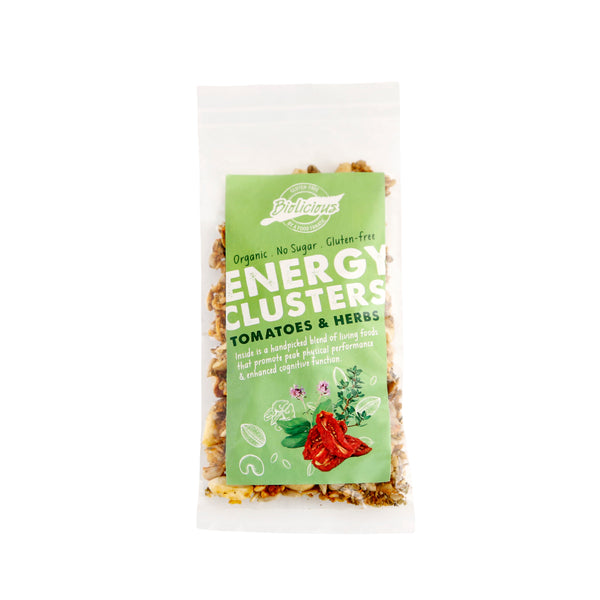 Biolicious Energy Clusters: Tomatoes & Herbs 40g