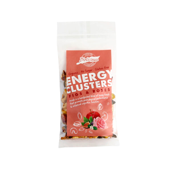 Biolicious Energy Clusters: Figs & Roses 40g