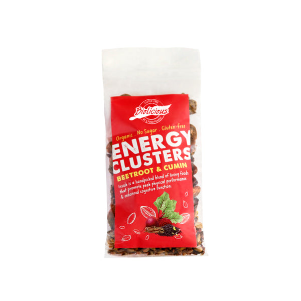 Biolicious Energy Clusters: Beetroot & Cumin 40g