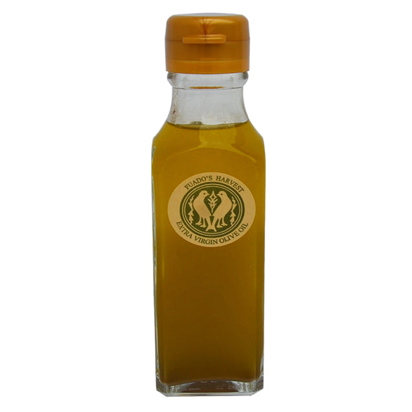 2017 HARVEST FRESHLY-PRESSED & AIR FLOWN: Fuado's Harvest Extra Virgin Olive Oil 120 ml