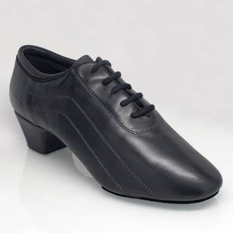 447 Zephyr  - Riccardo - Black Leather - Shop4Dancer
