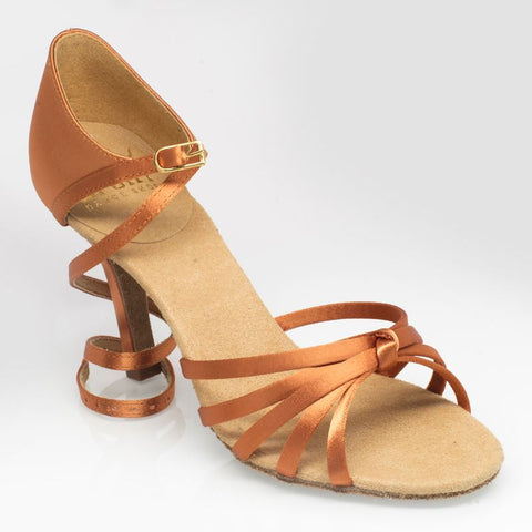 825 Drizzle | ULTRA-FLEX | Light Tan Satin - Shop4Dancer