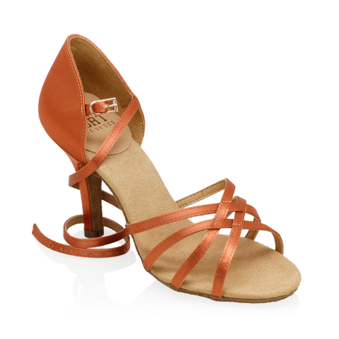835-X Monsoon Xtra | Dark Tan Satin