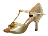 010T Boriana  | Gold Leather - Shop4Dancer