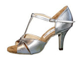 067T Manusova  | Silver Leather - Shop4Dancer