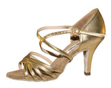 070 Karina   | Gold Leather - Shop4Dancer