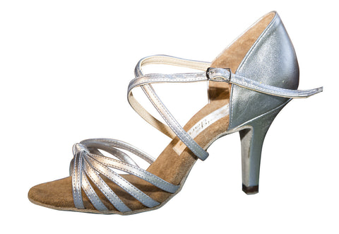 081E Abildtrip   | Silver Leather - Shop4Dancer