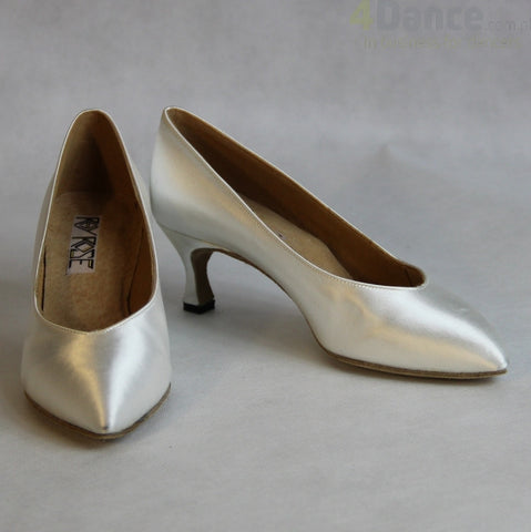 109A Avalanche | White Satin - Shop4Dancer