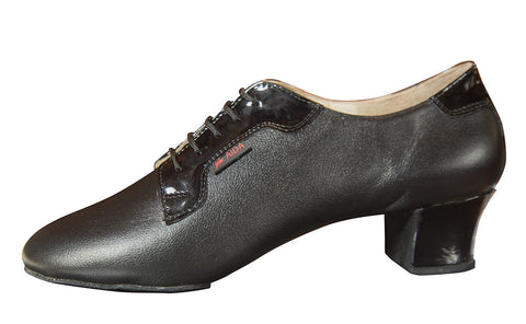 136T Smagin - Black Leather Natural Patent - Shop4Dancer