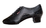 138T - STEFANO - Black Leather - Shop4Dancer