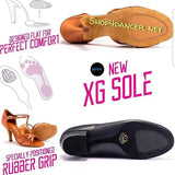 MIA - TAN SATIN - XG Sole - Shop4Dancer
