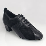 410 Breeze | Black Leather/Black Suede - Shop4Dancer