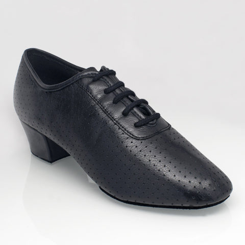 415 Solstice | Black Perforated Leather - Shop4Dancer