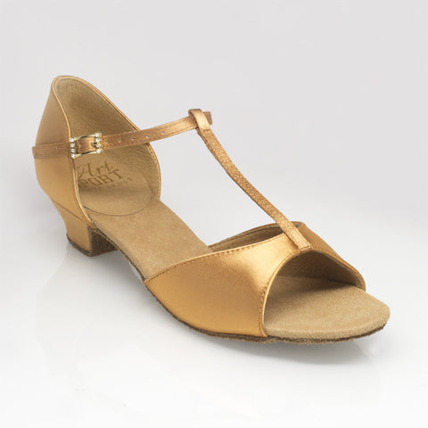 501 Misty | Flesh Satin | 4.5UK - Shop4Dancer