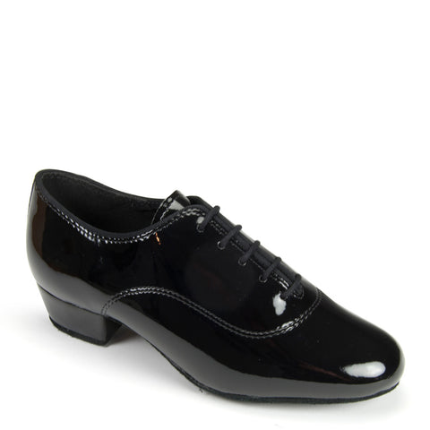 BOYS CONTRA - BLACK PATENT - Shop4Dancer