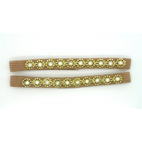 Flesh Shoe Strap with sequin - Shop4Dancer