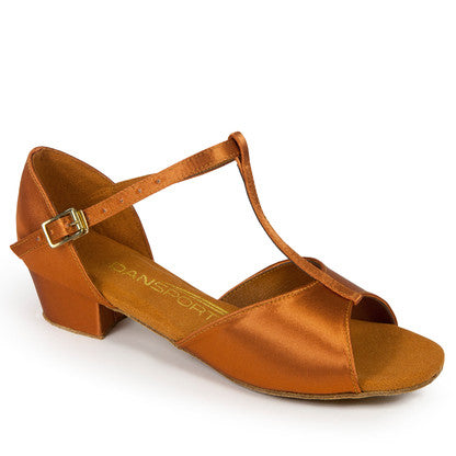 G1011 - Tan Satin - Shop4Dancer