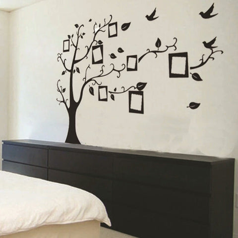 ... Wall Stickers Home Decor Family Picture Photo Frame Tree Wall Quote Art  Stickers PVC Decals Home Part 78