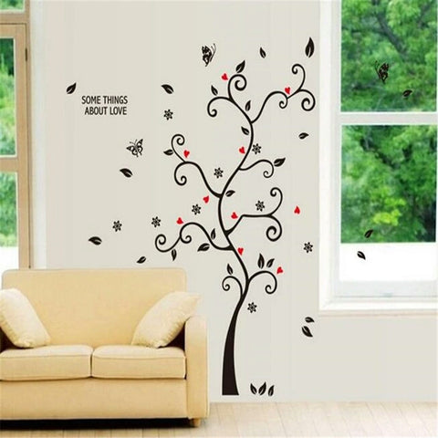 ... Black Tree Photo Frame DIY 3D Vinyl Wall Stickers Removable Wall Sticker  Design Living Room Home ... Part 68